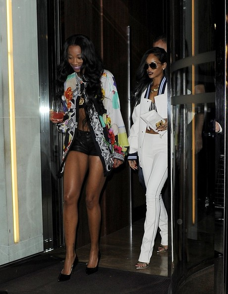 Rihanna and Cara Delevigne Party in London — Part 2
