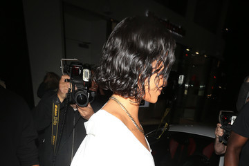 Rihanna Rihanna Is Seen Out and About