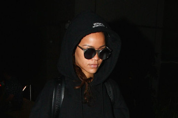 Rihanna Rihanna Is Seen at LAX