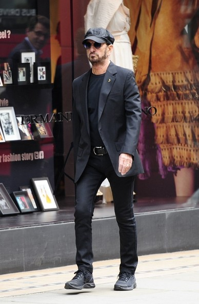 Ringo Starr Spotted In South Kensington
