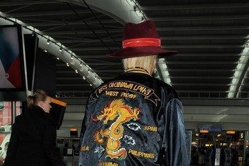 Rita Ora Rita Ora Arrives at the Airport