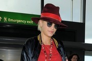 Rita Ora Arrives at the Airport
