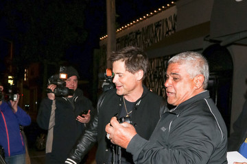 Rob Lowe Rob Lowe Is Seen Outside Craig's Restaurant In West Hollywood