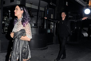 Robert Ackroyd Katy Perry and Robert Ackroyd Out in London