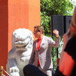 Robert Downey Jr. Robert Downey Jr. Outside TCL Chinese Theatre In Hollywood