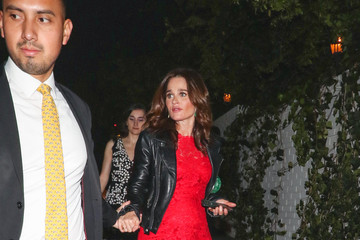 Robin Tunney Robin Tunney Outside Entertainment Weekly's SAG Awards Party At Chateau Marmont