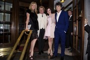 Ronnie Wood secret wedding to Sally Humphreys was followed by the reception at The Dorchester rounded off by drinks at the Ritz with best man Rod Stewart and his missus Penny Lancaster. They all left the Ritz in good spirits at 12:30am before heading back to their hotels. Ronnie and Sally were giggling like school kids in the back of their car.