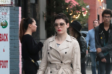 Rose McGowan Rose McGowan in NYC