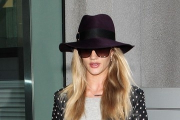 Rosie Huntington-Whiteley Rosie Huntington Whiteley at LAX