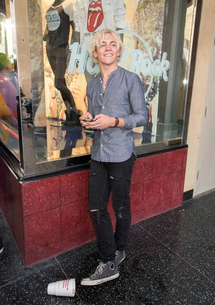 Ross Lynch Is Spotted in Hollywood