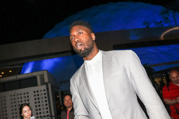 Roy Hibbert Roy Hibbert Outside Andre The Giant Premiere After Party At Lure Nightclub
