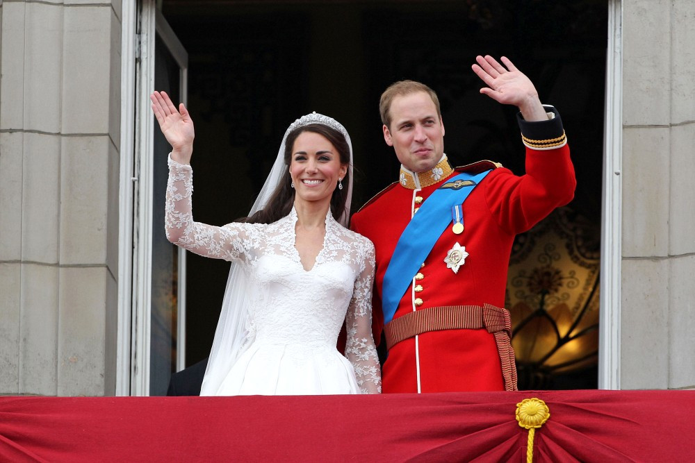 Prince William in Royal Wedding: The Balcony