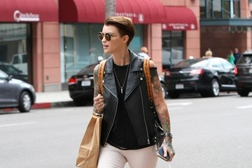 Ruby Rose Ruby Rose Goes Shopping in Beverly Hills