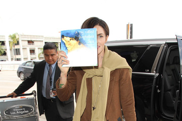 Ruby Rose Ruby Rose is Seen at LAX