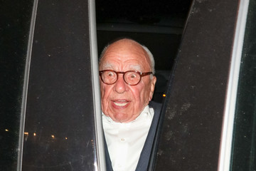 Rupert Murdoch Rupert Murdoch At Craig's Restaurant in West Hollywood