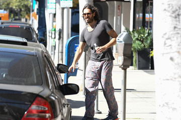 Russell Brand Russell Brand Is Seen Out and About