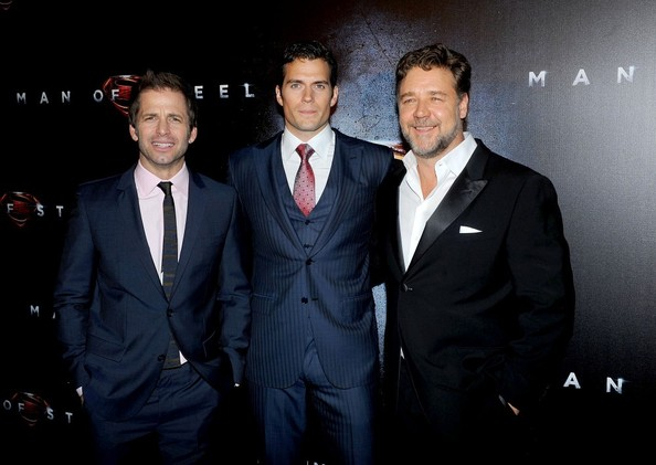 ff99464ea Russell Crowe and Henry Cavill Photos»Photostream · Pictures · 'Man of  Steel' Premieres in Australia. '
