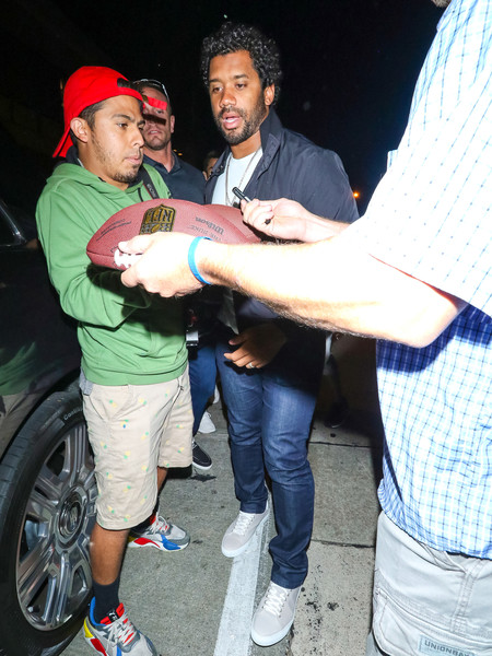 Ciara And Russell Wilson Outside The Nice Guy Nightclub In West Hollywood []