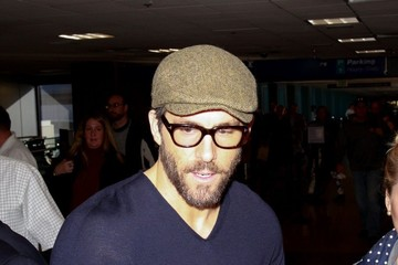 Ryan Reynolds Celebs Spotted at the Salt Lake City Airport
