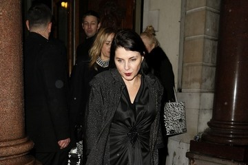 Sadie Frost Stars Leave the Pre-BAFTA Party