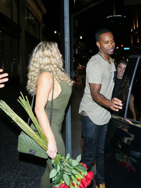 Nikki Mudarris and Safaree Samuels Have a Date at Katsuya Restaurant