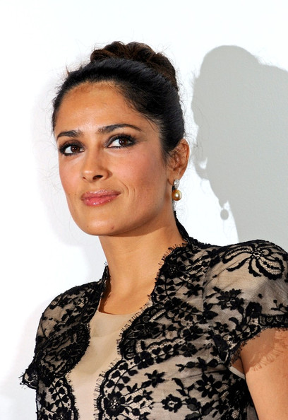 salma hayek husband and daughter. Salma Hayek and her husband