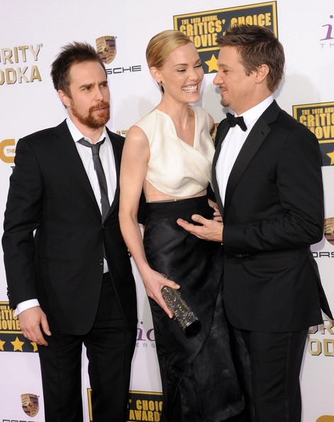 Three Billboards Outside Ebbing Missouri >> Sam Rockwell and Leslie Bibb Photos Photos - Arrivals at ...