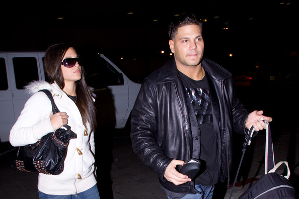 jersey shore sammi ronnie. quot;Jersey Shorequot; Cast at LAX