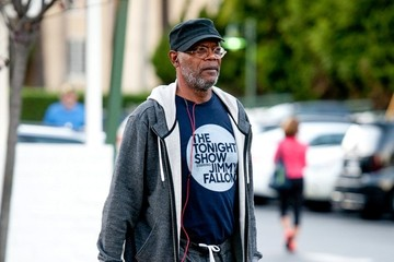 Samuel L. Jackson Samuel L. Jackson Spotted at the Market