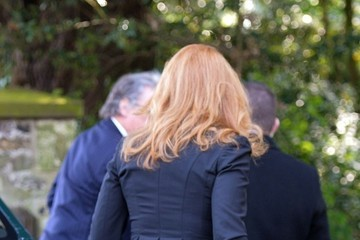 Sarah Ferguson Funeral Held for Peaches Geldof