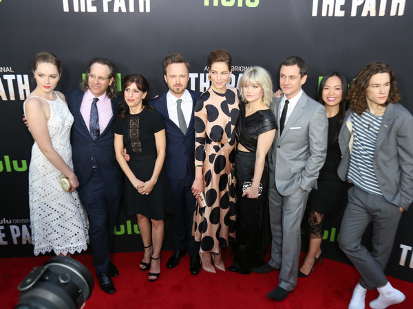 Celebrities Attend the Premiere of Hulu's 'The Path' at ArcLight Theatre []