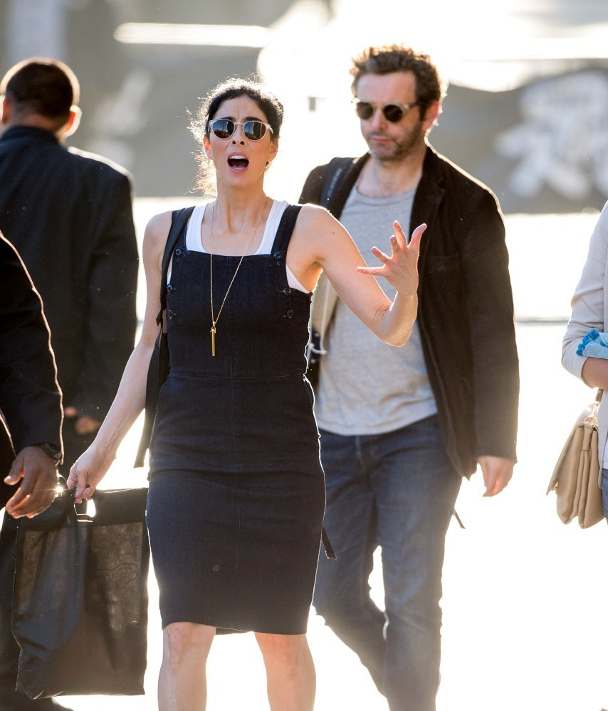 Sarah Silverman and Michael Sheen Photos Photos - Sarah ...