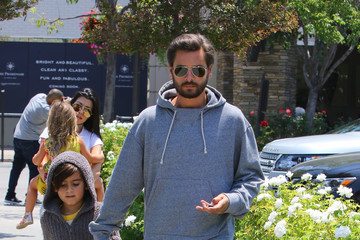 Scott Disick The Kardashians Hit the Movie Theater