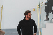 Scott Disick Arrives at RH Contemporary