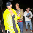 Scott Storch Amber Rose And AE Outside Craig's Restaurant In West Hollywood