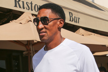 Scottie Pippen Scottie Pippen Spotted in Beverly Hills