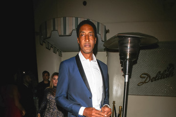 Scottie Pippen Scottie Pippen Leaves a Halloween Party at Delilah