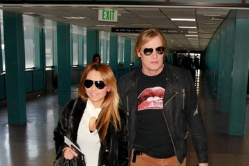 Sebastian Bach Celebs Spotted at the Salt Lake City Airport