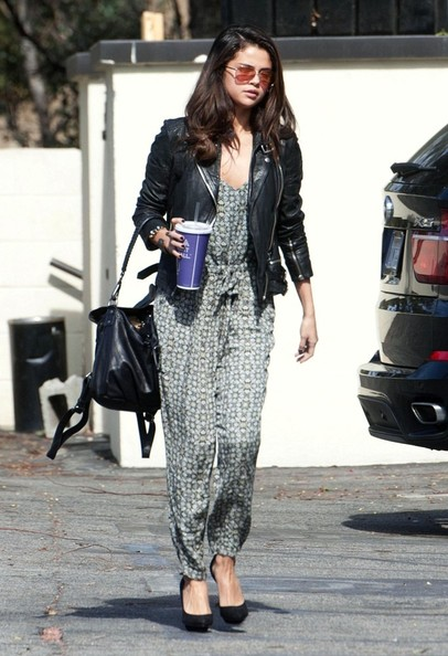 Selena Gomez keeps busy in Beverly Hills.