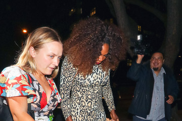 Serena Williams Serena Williams Outside Peppermint Nightclub In West Hollywood