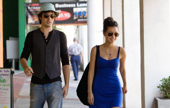 Christian Serratos and boyfriend