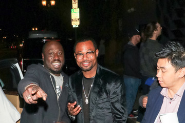 Shane Mosley 'Sugar' Shane Mosley Outside Andre The Giant Premiere After Party At Lure Nightclub