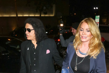 Shannon Tweed Gene Simmons At Craig's Restaurant In West Hollywood