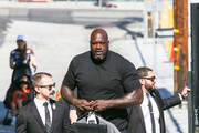 Shaquille O'Neal At 'Jimmy Kimmel Live'