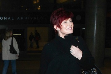 Sharon Osbourne The Osbournes Arrive at LAX