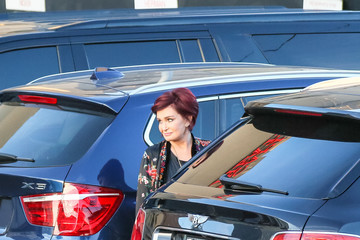 Sharon Osbourne Sharon Osbourne At 'Jimmy Kimmel Live'