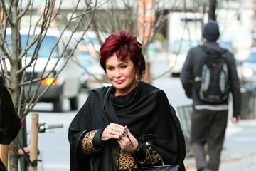 Sharon Osbourne Sharon and Ozzy Osbourne Out in NYC