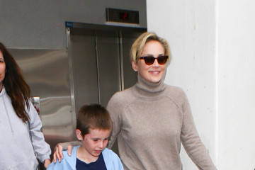 Sharon Stone Sharon Stone is Seen at LAX