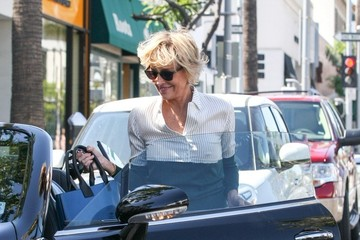 Sharon Stone Sharon Stone Out and About