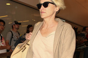 Sharon Stone Is Seen at LAX